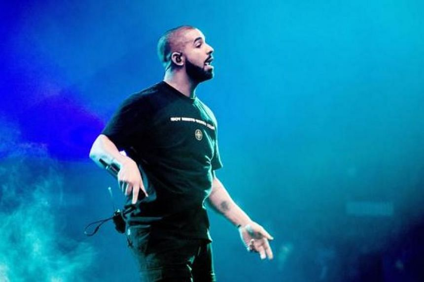 Drake performs on stage at the Ziggo Dome in Amsterdam on Jan 28, 2017.