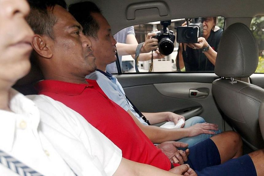 Mohammad Rosli Abdul Rahim, who has been charged with the murder of Mr Mohammad Roslan Zaini, had been sleeping in the rough for two years until the victim took pity on him and told him to move into his flat. ST PHOTO: WONG KWAI CHOW