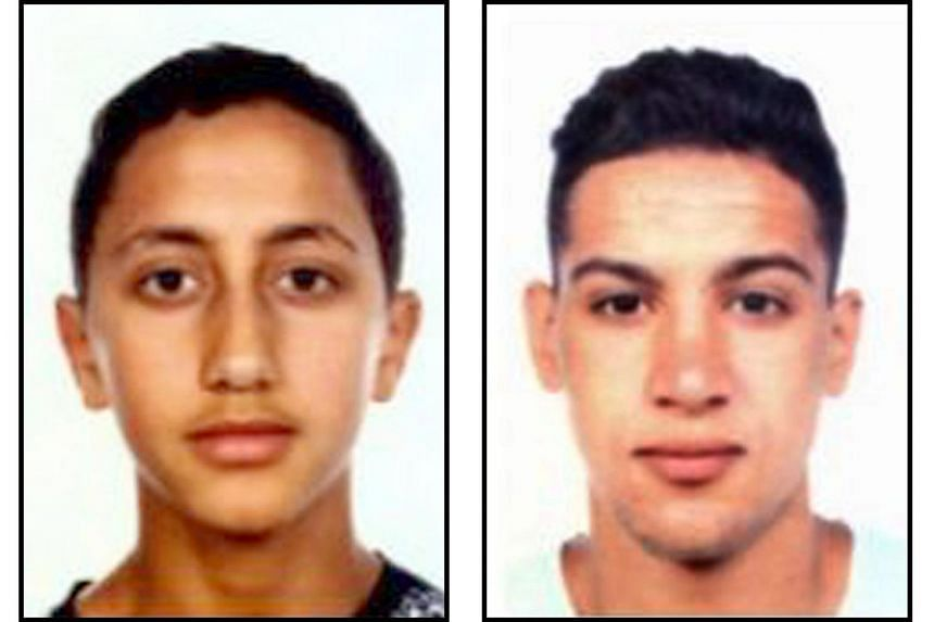 Suspects in the Barcelona and Cambrils attacks include (from top) Moussa Oukabir, Said Aallaa, Mohamed Hychami and Younes Abouyaaqoub. As many as eight of 12 young men named as suspects are first- and second- generation Moroccan immigrants from Ripol