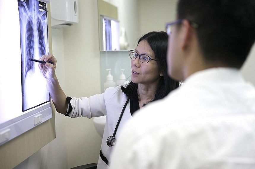 "Oncologist Chin Tan Min says her job is to explain medical jargon to patients in easy to understand terms and to ""treat the treatables"", while remembering that it is a person who is being treated, and not just the cancer or illness."