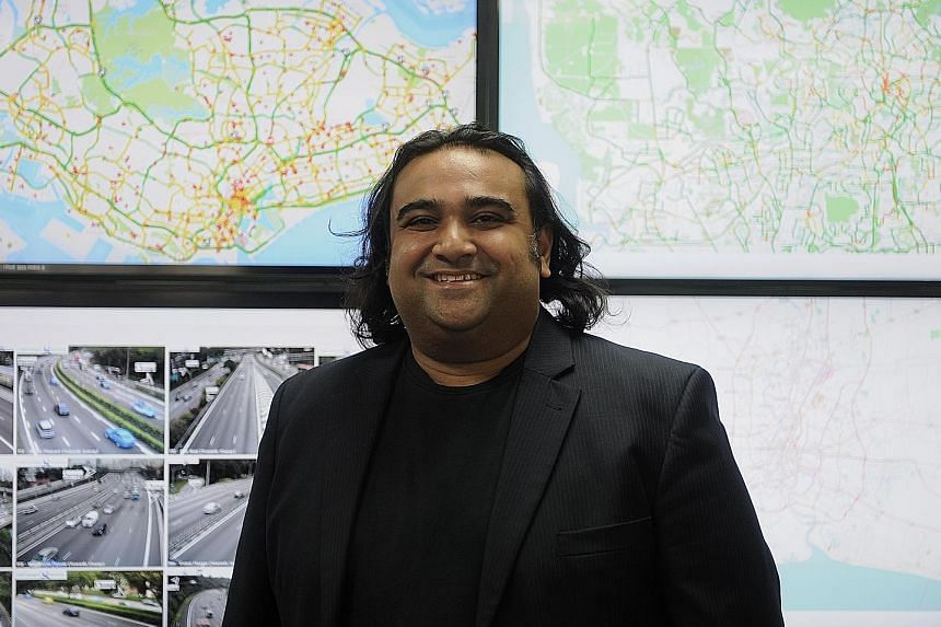 Quantum Inventions chief executive and co-founder Saurav Bhattacharyya. He says that Singapore's Smart Nation vision looks to integrate IT into all aspects of life, including transport. Transportation technology will play a key role in the changing l