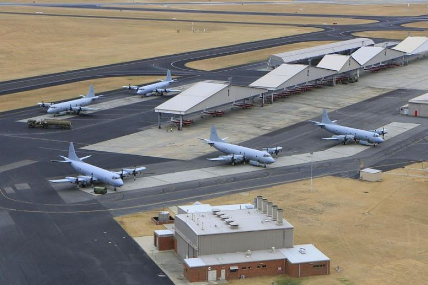AP-3C Orions at the Pearce Airbase in Western Australia.