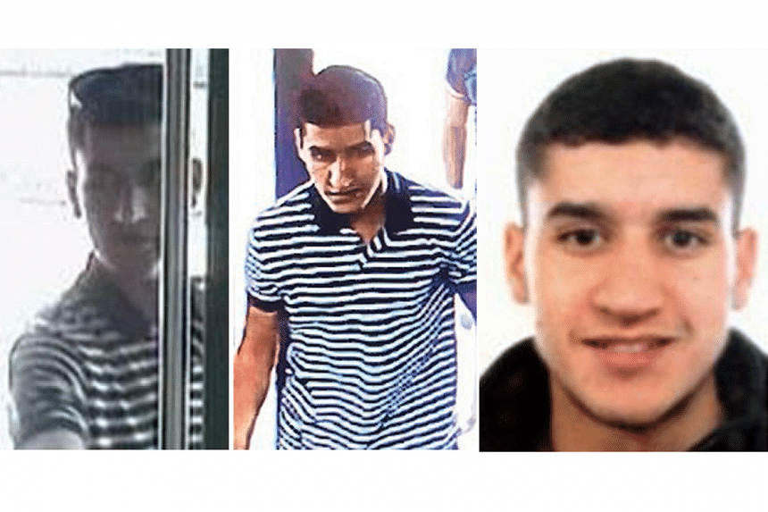A Europe-wide manhunt had been launched for the fugitive Younes Abouyaaqoub, 22. The Moroccan national was described as dangerous and likely armed.