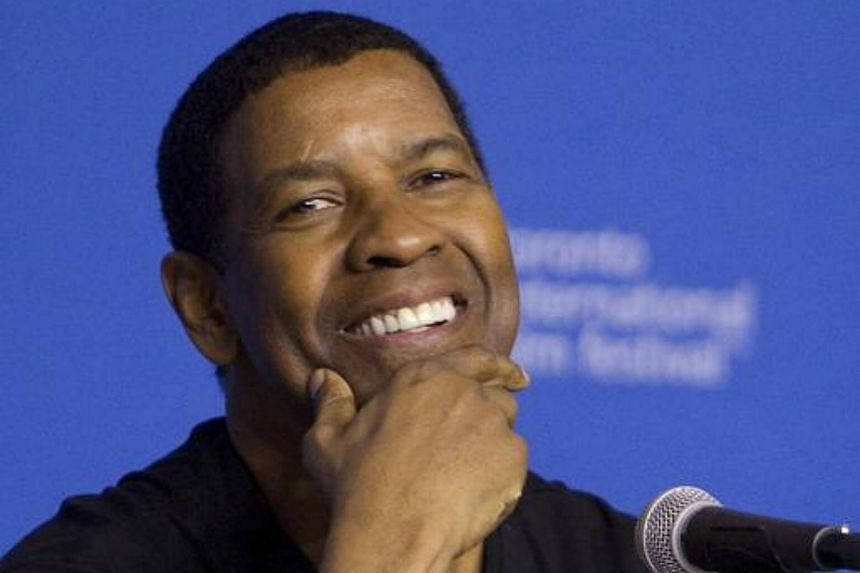 Denzel Washington attends a news conference at the Toronto International Film Festival (TIFF) in Toronto, on Sept 7, 2014.