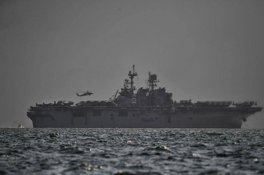 The USS John S. McCain suffered significant damage to its hull on Aug 21, which flooded nearby compartments.