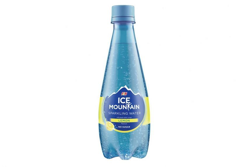 Ice Mountain Sparkling Water is one of the items in the F&N Healthier Choice hampers.