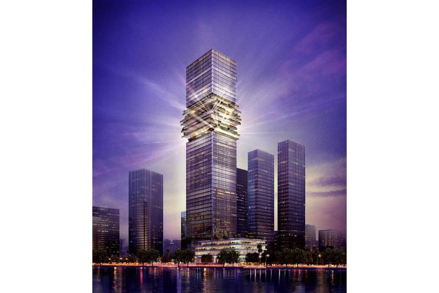 CapitaLand's first commercial tower in Vietnam.