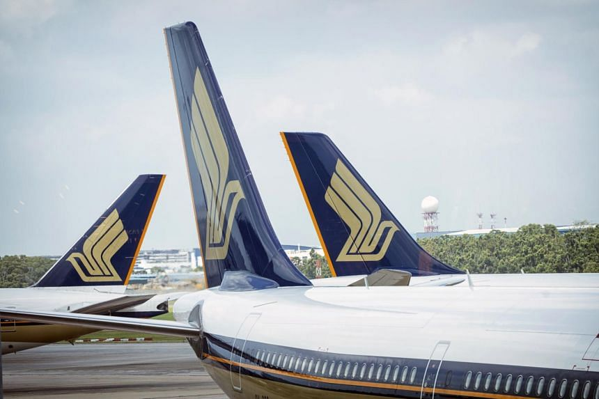 Singapore Airlines flights from Singapore to Hong Kong have been affected by Typhoon Hato.