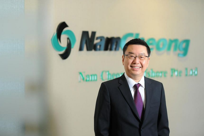 Mr Leong Seng Keat, group chief executive officer of Nam Cheong Limited.