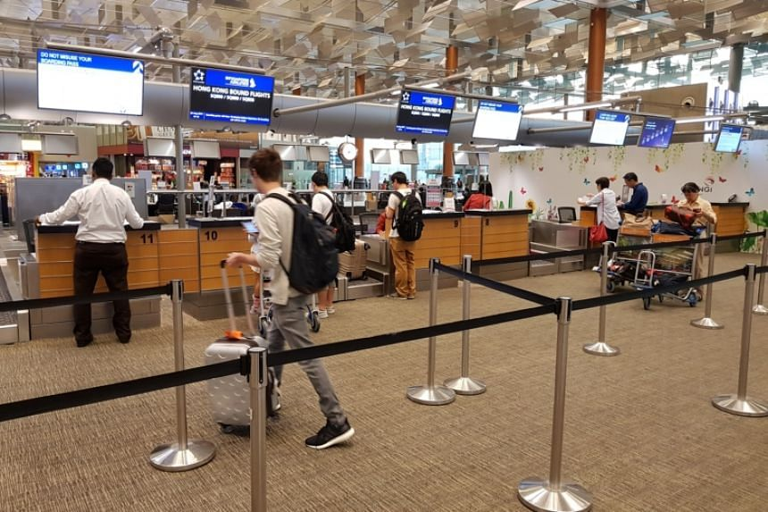 Flights to Hong Kong have been delayed or cancelled because of Typhoon Hato.