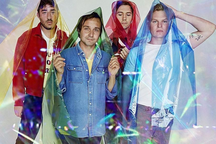 (From far left) Ed Droste, Daniel Rossen, Christopher Bear and Chris Taylor make up Grizzly Bear.