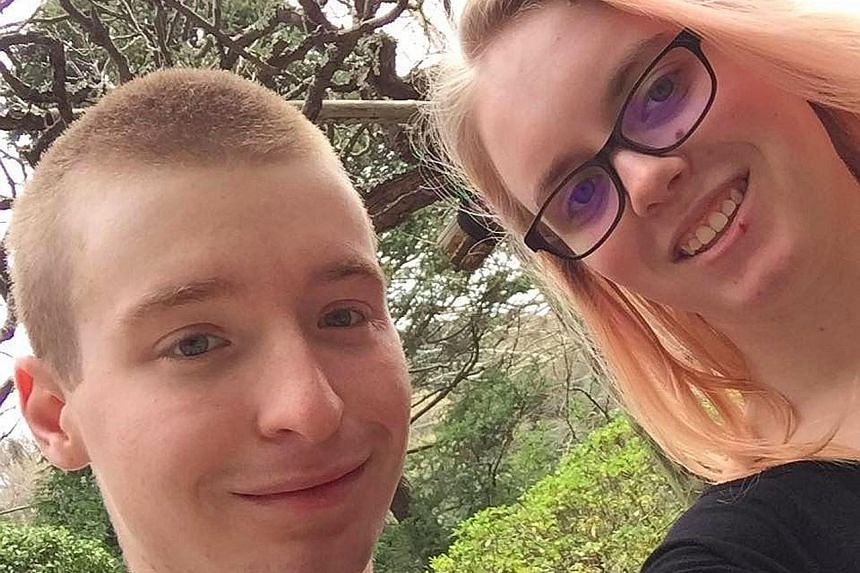 Ms Megan Partlow and Mr Jacob Drake plan to wed in July next year. Mr Drake was one of the sailors who went missing after the collision on Monday.