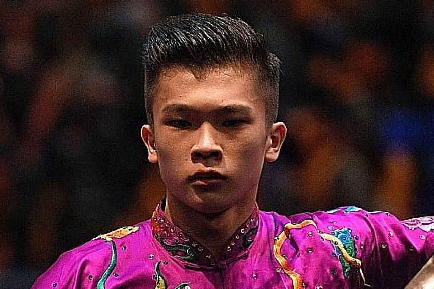 Twice world junior champion Jowen Lim, still only 18, now has one team and two individual gold medals in the SEA Games.