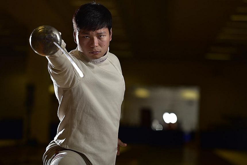 Fencer Lim Wei Wen, 32, promised himself that he would compete at a fourth SEA Games the moment Singapore lost the team epee final to Vietnam by the narrowest of margins in 2015.