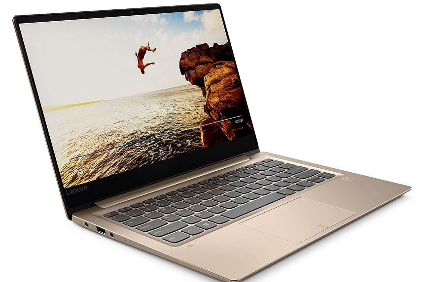 Despite its ordinary looks, the Lenovo IdeaPad 720S' metallic chassis and bright, lively screen show it is a premium laptop.