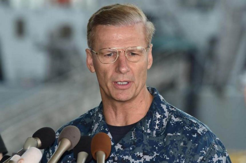Vice-Admiral Joseph Aucoin was relieved due to a loss of confidence in his ability to command.