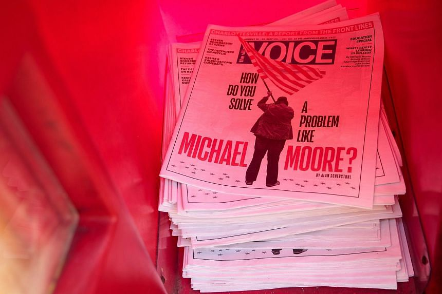 The Village Voice has been distributed free in the New York City area since 1996.