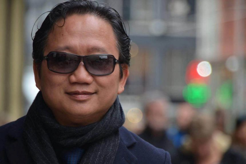 The suspect is believed to be involved in the kidnapping of Vietnamese businessman Xuan Thanh Trinh (pictured). Trinh and his companion were grabbed in a Berlin street and bundled into a van on July 23.