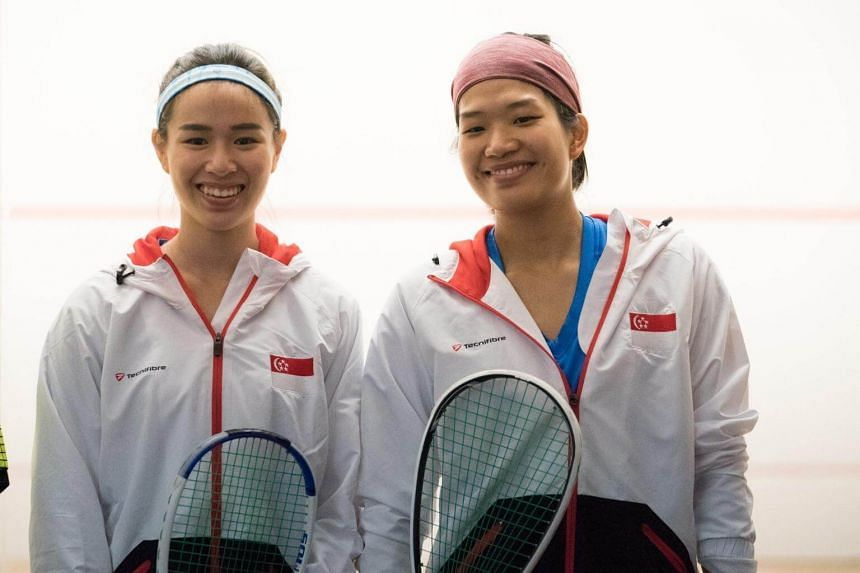 Mao Shi Hui and Sherilyn Yang defeated the Philippines' team 2-0 in the women's jumbo doubles final on Thursday evening (Aug 24).