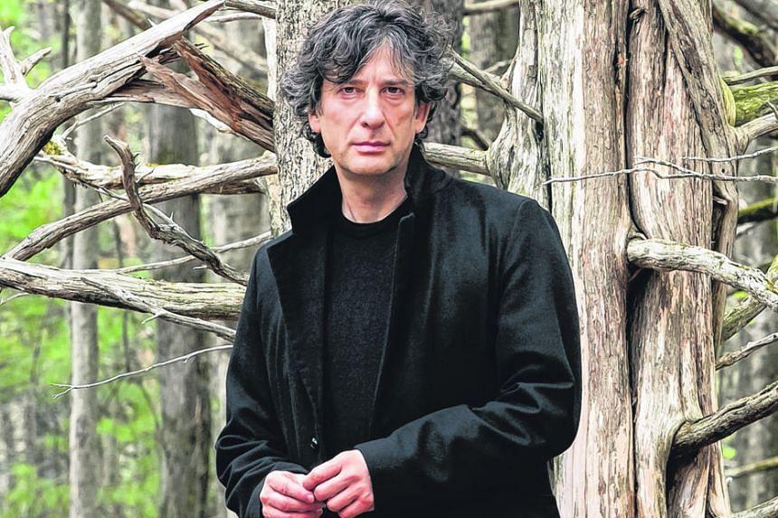 Writer Neil Gaiman