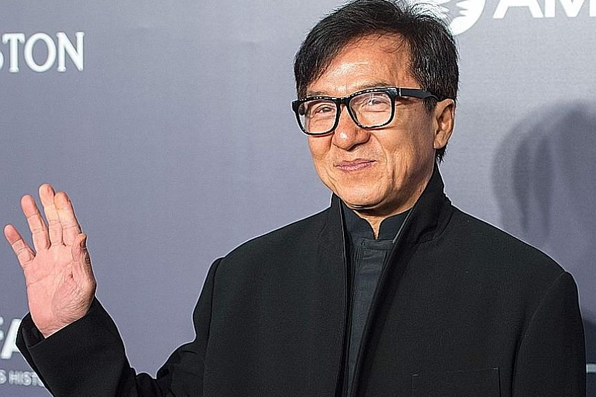 Asian actors in the top 10 list included Jackie Chan (top) and Shah Rukh Khan (above).