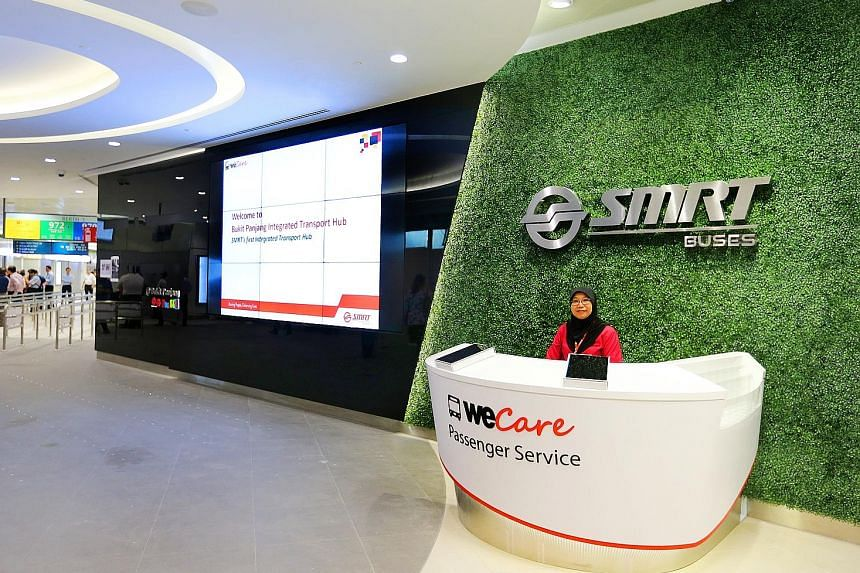 SMRT's WeCare shop will allow patrons to borrow a number of items for free. They only need to show their identity card.