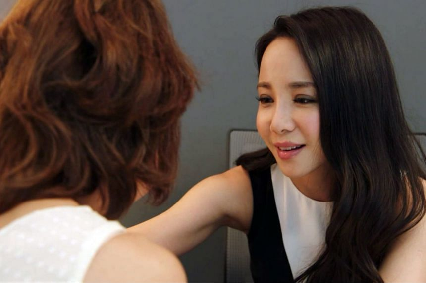 """Channel 5 psychiatric drama Left Behind, starring Fiona Xie (pictured), needed """"realism in scripting"""", said the Programme Advisory Committees. PHOTO: MEDIACORP"""