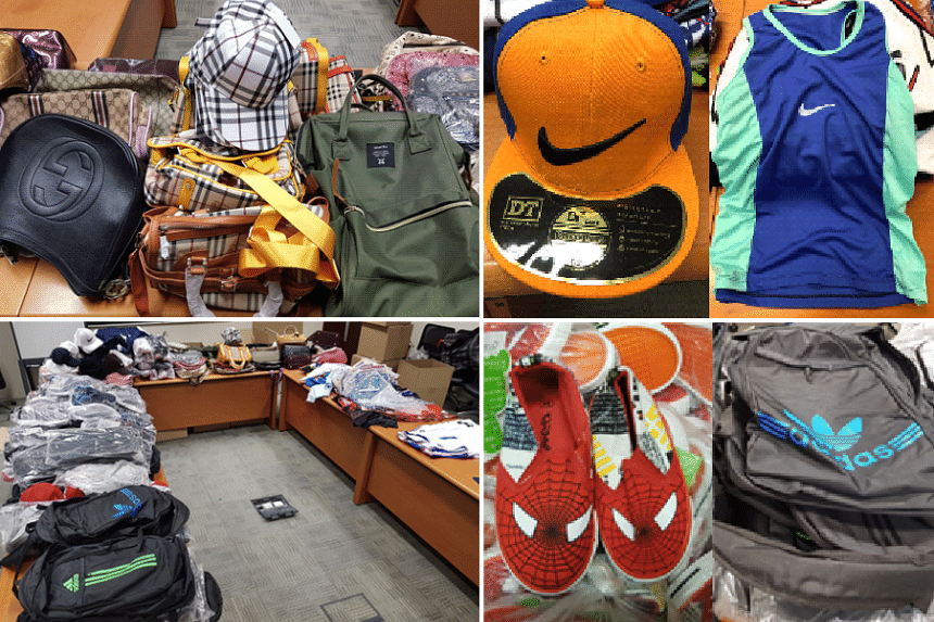 4c042b260 4 arrested for selling fake Nike