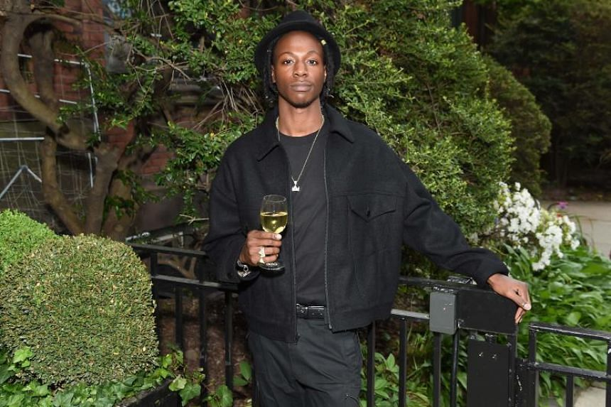 """Joey Bada$$ at the Room to Read event honoring Sean """"Diddy"""" Combs & David M. Solomon for Impact On Global Education at 2017 New York Gala at The Highline Hotel."""