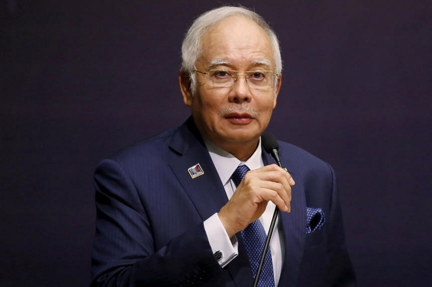 Malaysia's Prime Minister Najib Razak speaks at the opening of the International Conference on Deradicalisation and Countering Violent Extremism in Kuala Lumpur, on Jan 25, 2016.