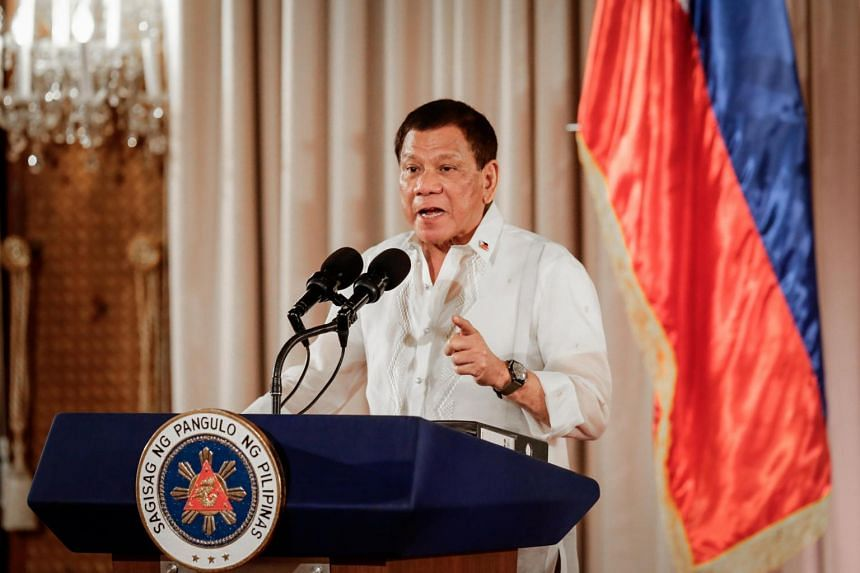 President Rodrigo Duterte also defended his son from critics who claimed he was smuggling goods through Customs.