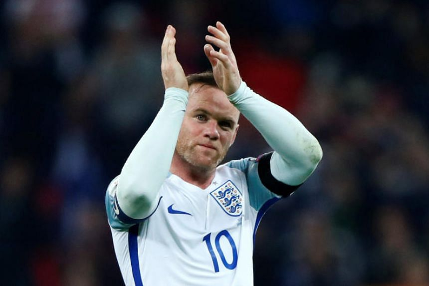 England's Wayne Rooney announced that he is retiring from international football with immediate effect.