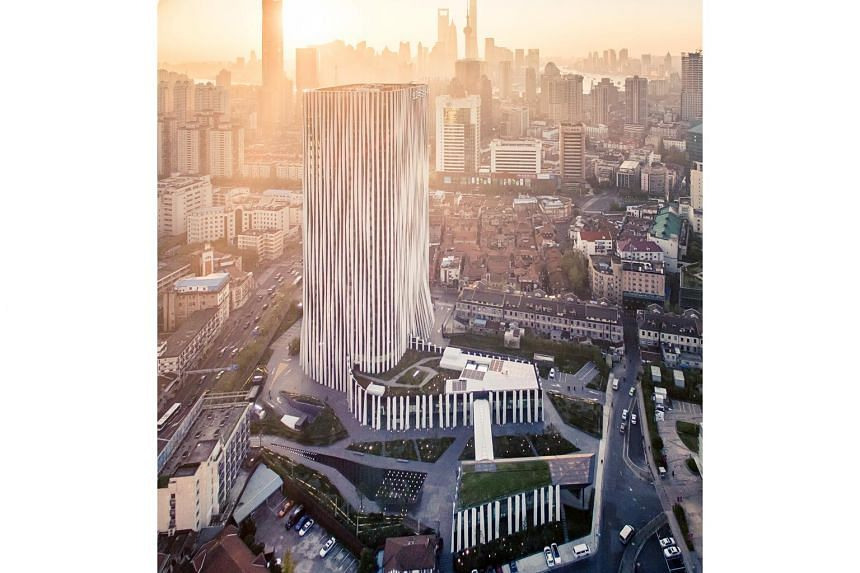 Hongkou Soho, in Shanghai's Hongkou District, offers a total leasable area of 70,042 sq m, comprising 65,304 sq m office and 4,738 sq m retail space.