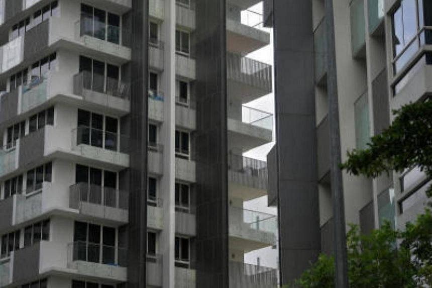 The Peak @ Cairnhill, 51 (right) and 61 (left) Cairnhill Circle are among the 41 buildings found to have unsafe cladding including S'pore Poly and Our Tampines Hub that failed SCDF's fire safety regulations.