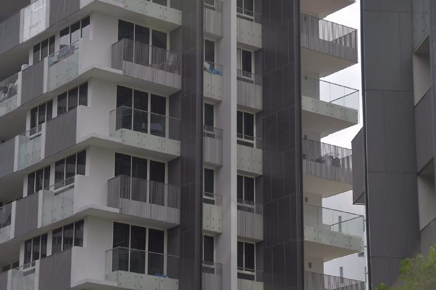 The affected buildings include luxury condominiums The Peak@Cairnhill I and II.