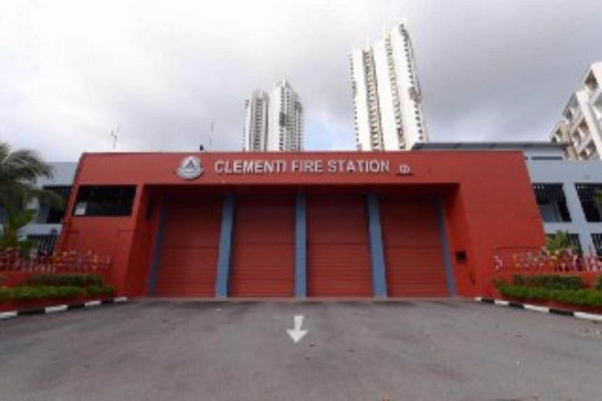 Clementi Fire Station is one of the buildings with combustible external cladding that has already been removed.