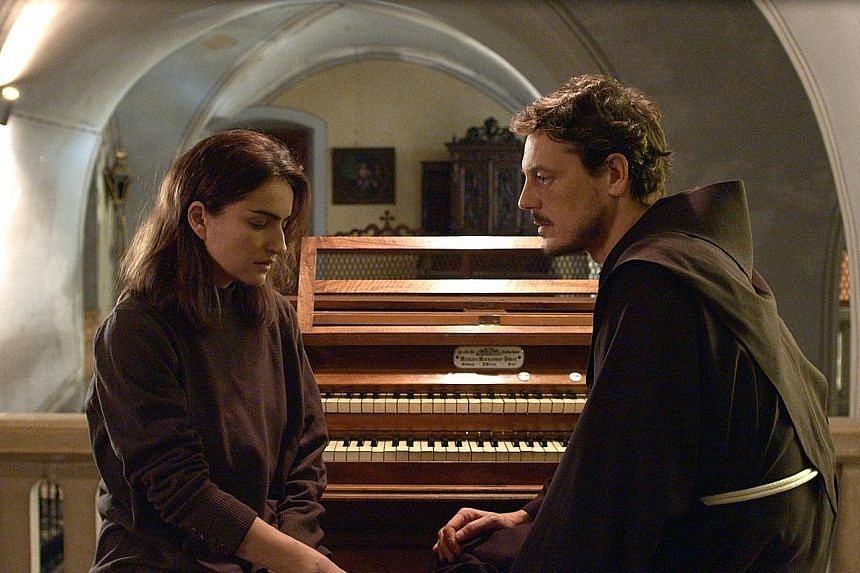 A Quiet Heart stars Ania Bukstein as a classical pianist and Giorgio Lupano as a monk.