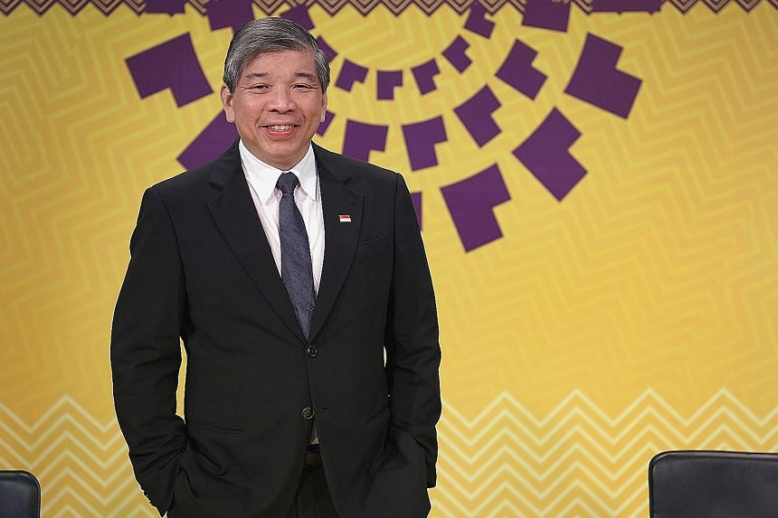 """Mr Teo Siong Seng says the SBF will focus on becoming more """"issue-centric"""" and deepening partnership with businesses while raising collaboration with trade associations and chambers."""