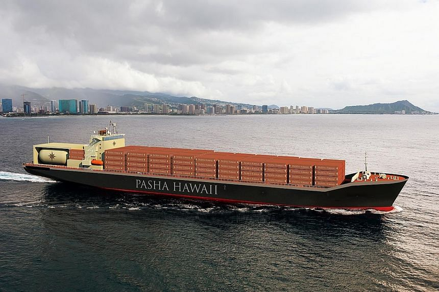 The deal with Honolulu-based Pasha Hawaii will be Keppel's first for a large-sized Jones Act vessel and a new-build container ship.