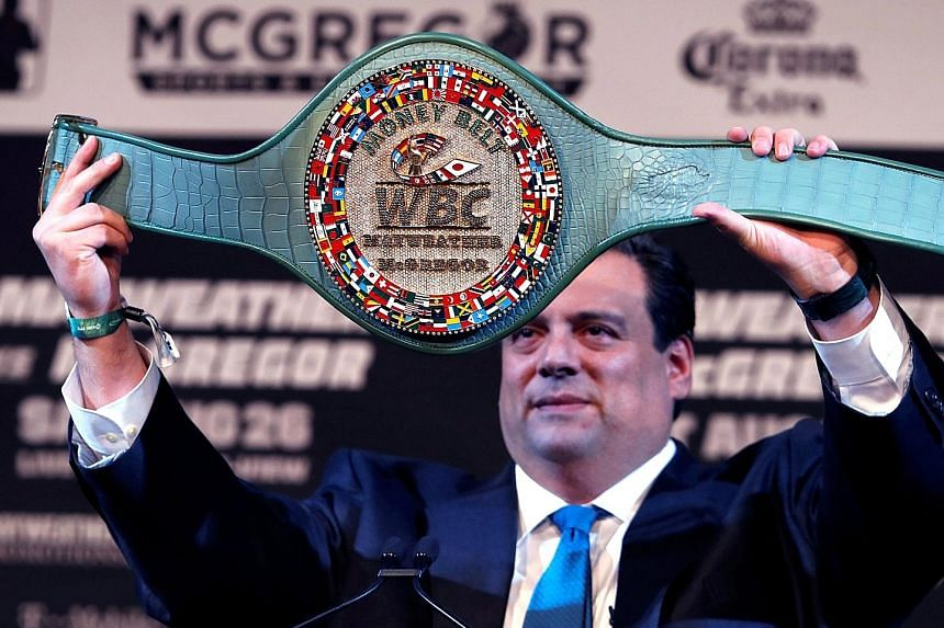 The Money Belt, filled with gold, diamonds and sapphires and emeralds, will be given to the winner of the McGregor v Mayweather super-fight.