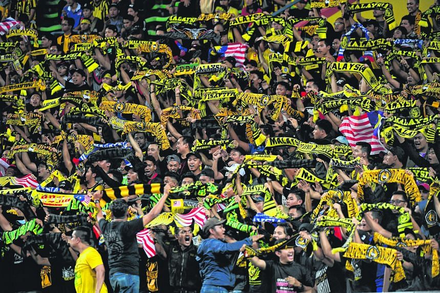 Some Malaysian fans chanted slurs during the host nation's 2-1 victory over Singapore in the SEA Games football clash last week.
