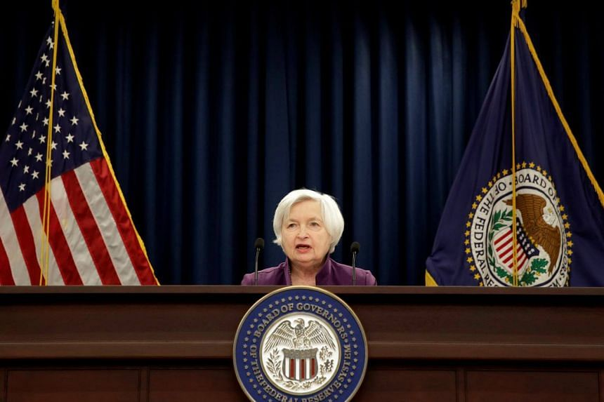 Federal Reserve Board Chairwoman Janet Yellen speaks during a news conference after the Fed releases its monetary policy decisions in Washington, US on June 14, 2017.