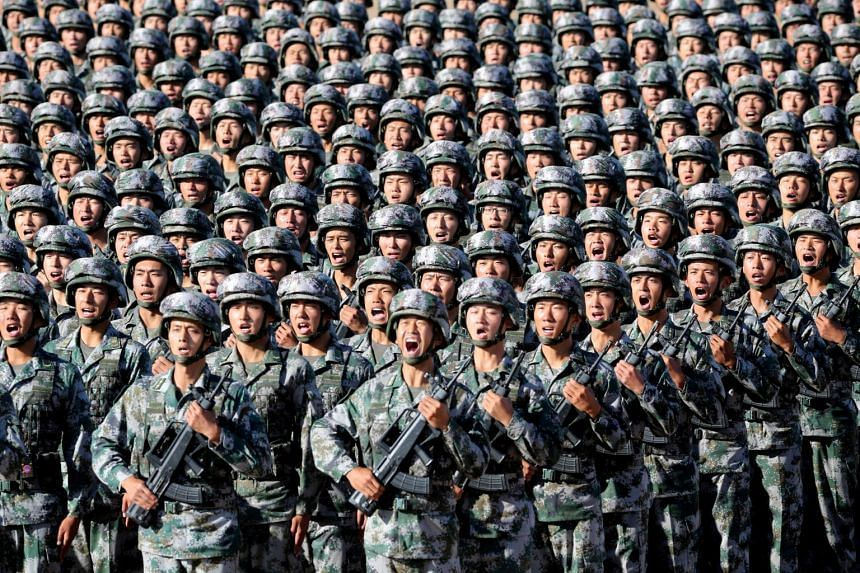 """The People's Liberation Army Daily said on Friday (Aug 25), in a lengthy front page story, that a hard task remains to ensure the armed forces are clean from corruption, adding: """"The arrow cannot be sheathed once the bow is drawn""""."""