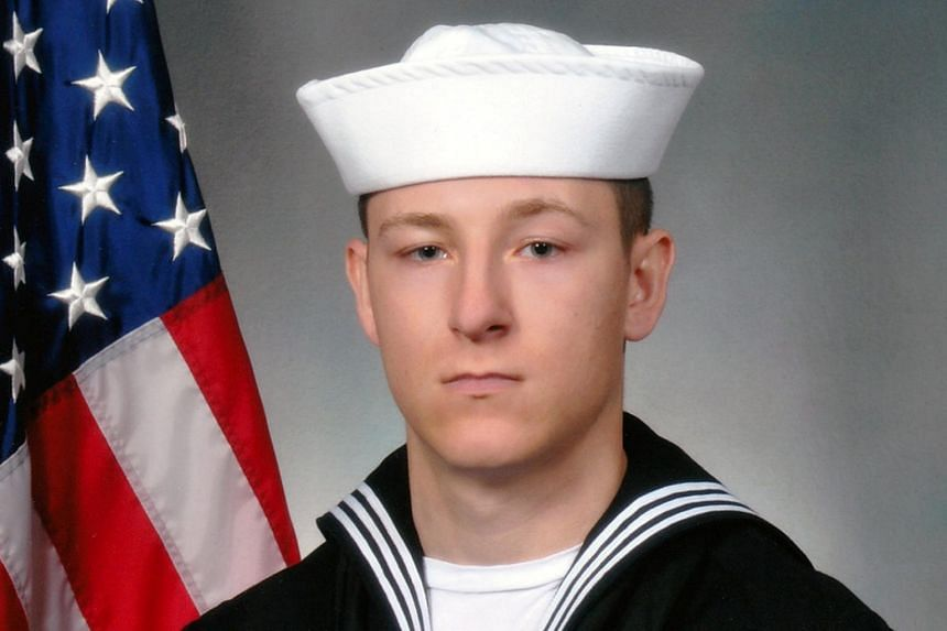 Electronics Technician 3rd Class Kenneth Aaron Smith, 22, from Cherry Hill, New Jersey, who was stationed aboard the USS John S. McCain when it collided with a merchant vessel in waters near Singapore and Malayasia, on Aug 21, 2017.
