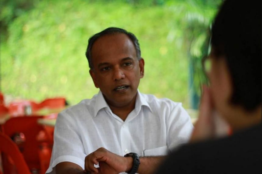 """Law and Home Affairs Minister K. Shanmugam in a Facebook post said that societies cannot just look to """"debate and discussion"""" to build and maintain social harmony in the battle against hate speech."""