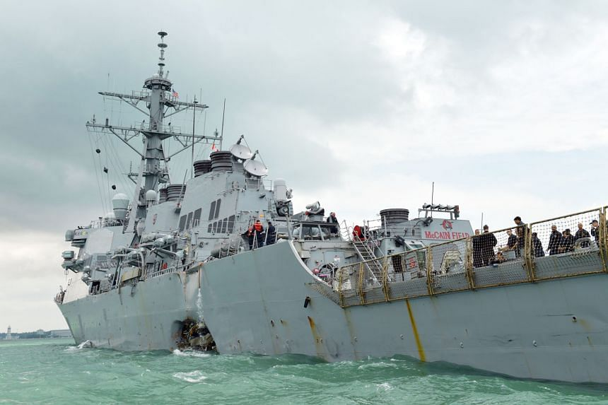 A collision with an oil tanker early on Monday morning left guided-missile destroyer USS John S. McCain with a hole on its port side. Navigational safety requires every individual to be vigilant at all times, says the writer.