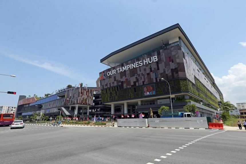 The new Our Tampines Hub is among 15 buildings found to be using combustible cladding that allows flames to spread more quickly than they are supposed to.