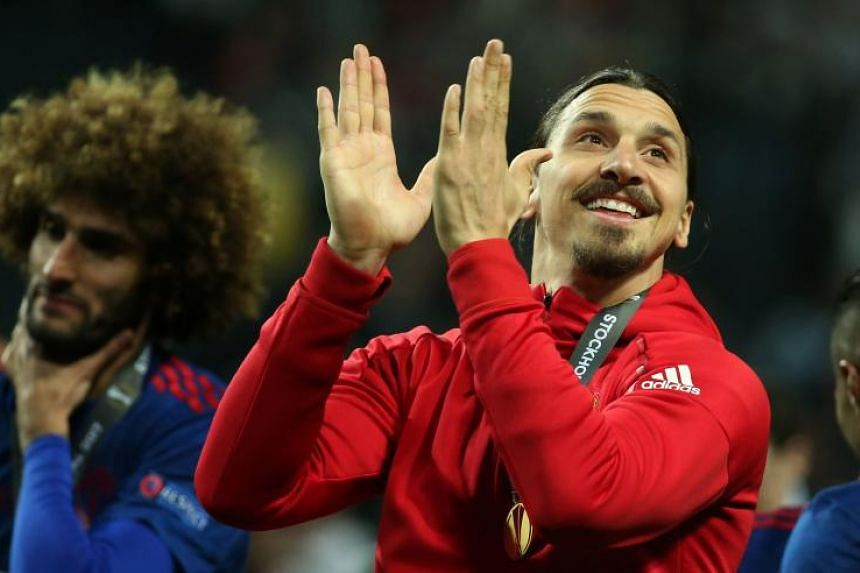 Zlatan Ibrahimovic scored 28 goals in 46 appearances for  Manchester United  last season before suffering a knee injury.