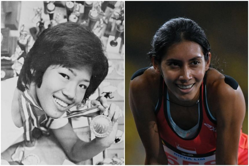Dipna Lim-Prasad broke Chee Swee Lee's national record for the women's 400m, which stood for 43 years, on Aug 24.