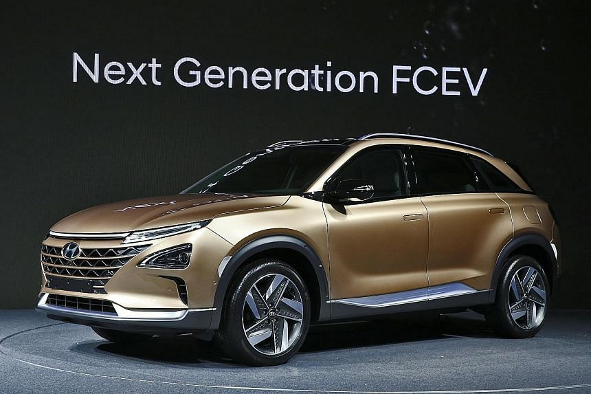 Next generation fuel cell Hyundai